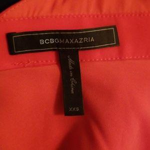 BCBGMaxAzria Tops - Bcbgmaxazria Remmie criss cross halter, Poppy xxs